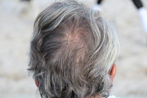 Tête, Cheveux, Grey, Esprit, L'Homme