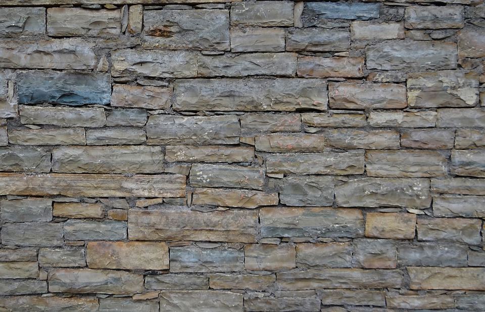 wall stone texture blocks stacked background