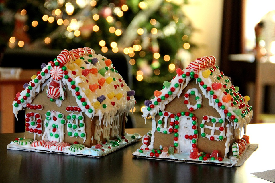 Gingerbread House Gingerbread Christmas X Mas  C B Public Domain