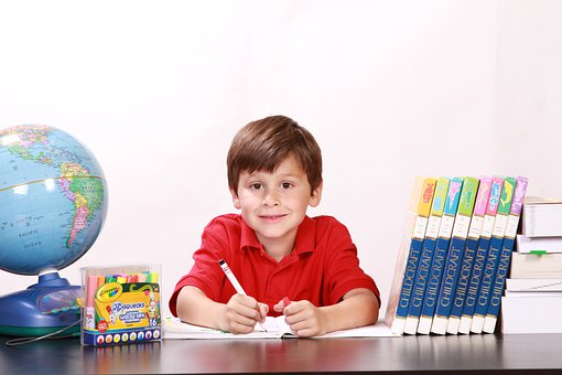 Boy, Portrait, Smile Boy, School