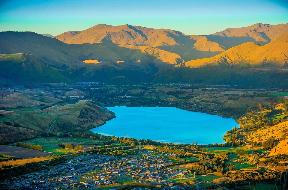 Queenstown New Zealand Sunset Free Photo On Pixabay