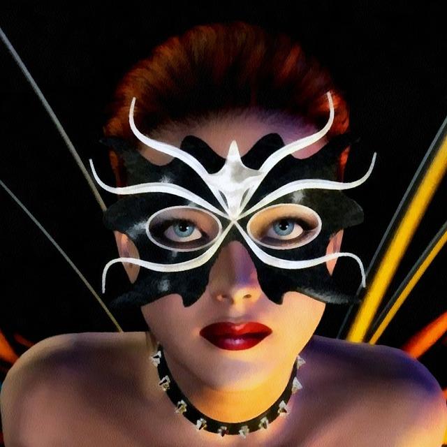 Gratis Billede pige, kvinde, model, ansigt, Mask - Gratis Image På-1286