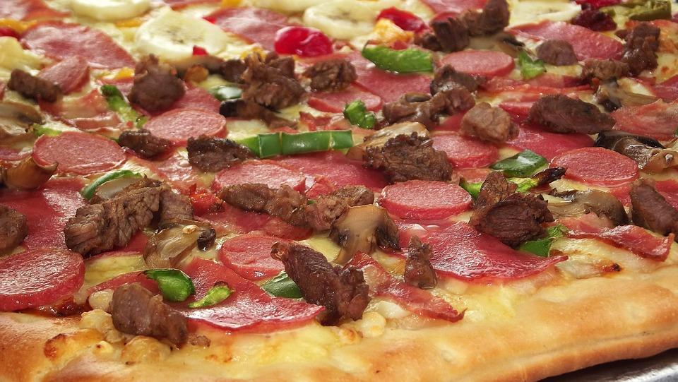 Pizza Keju Mozzarella Foto Gratis Di Pixabay