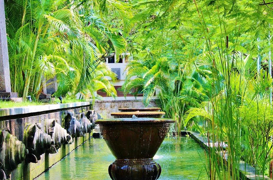 Bali, Ubud, Fontaines, Indonésie, Statue, Pierre