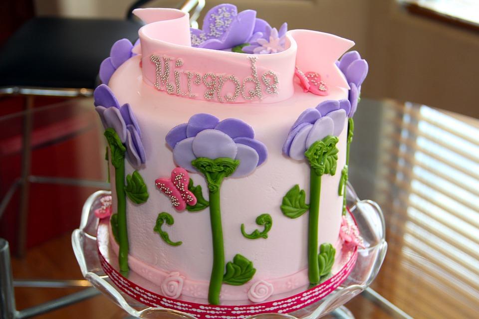 Cake Birthday Sweet Free Photo On Pixabay