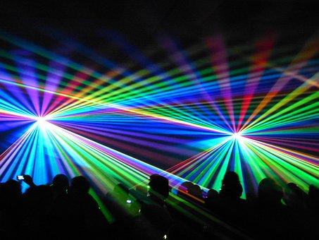 Laser, Montrent, Show Laser, Coloré