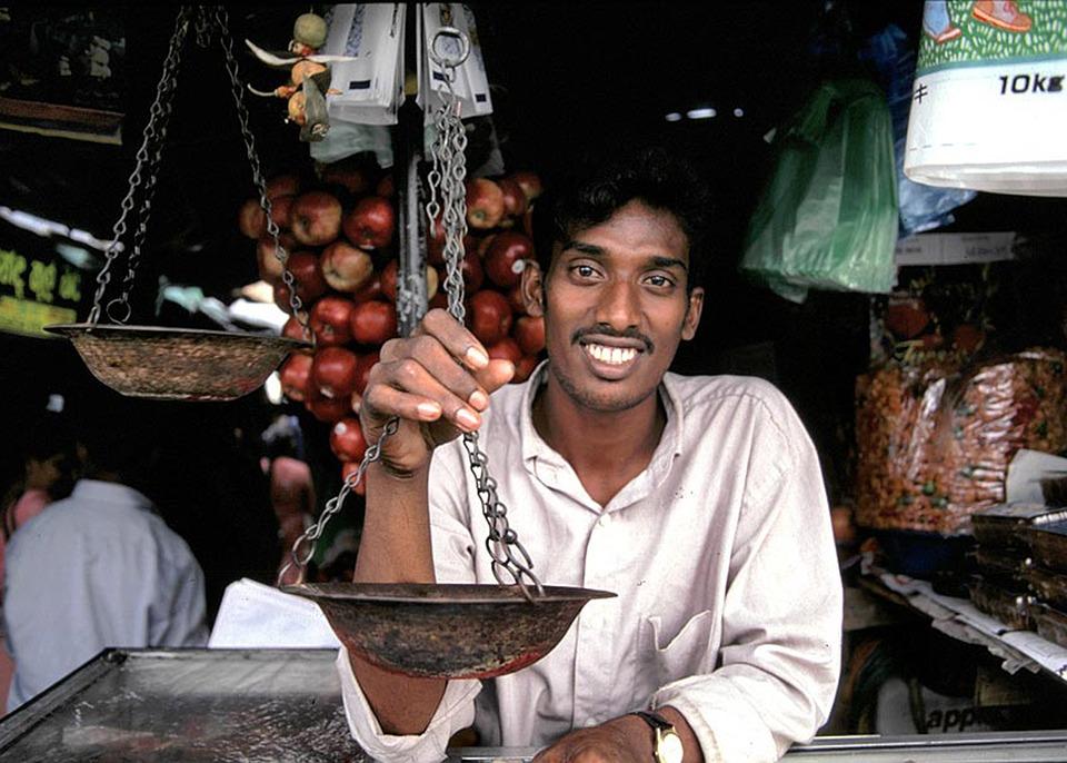 Pemilik Toko, Penjual, Pria, Orang, Bahagia, Sri Lanka