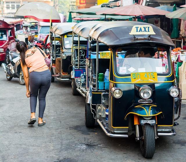 Tuk Taxi Warorot Market Chiang · Free Photo On Pixabay