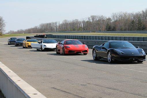 Exotic Cars Ferrari, Lamborghini, Race