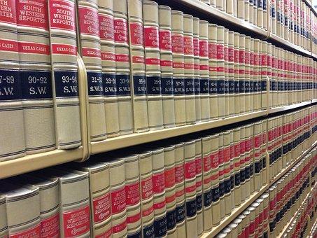 Livres De Droit, La Bibliothèque