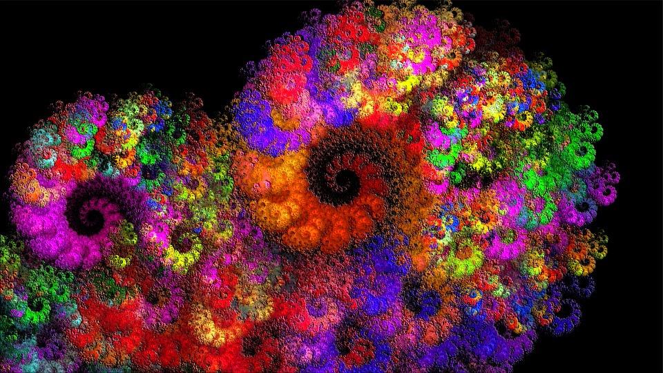 Digital Computer Art : Free illustration fractal digital art image on