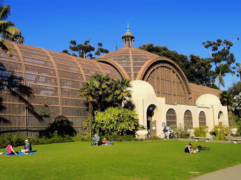 Balboa Park, San Diego, California, Botanical Garden