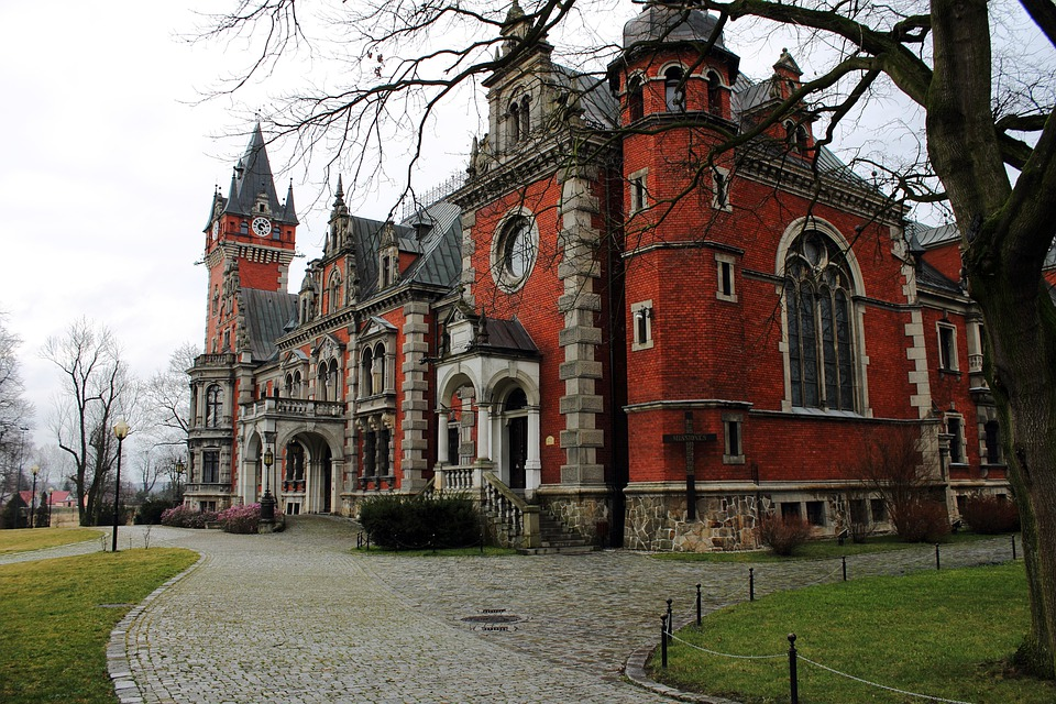 The Palace, Ballestrem, Architecture, Castle