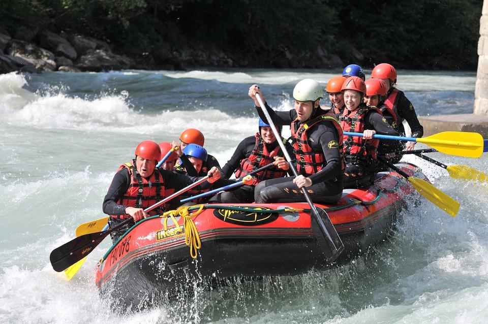 Rafting, White Water Rafting, Balsa De Agua Blanca