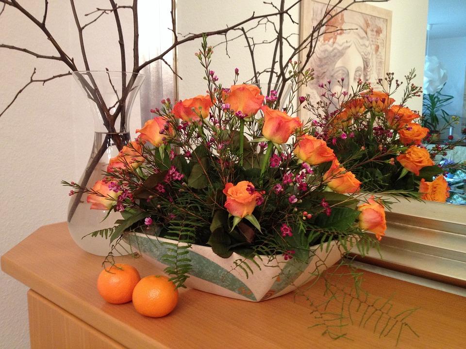 Gratis foto Rosor, Blomsterarrangemang  Gratis bild på