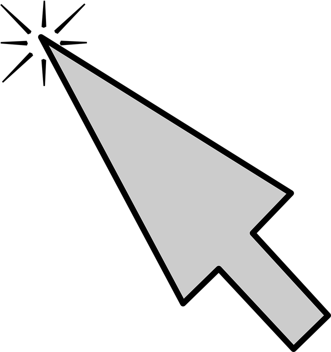 free vector graphic computer mouse pointer arrow gui