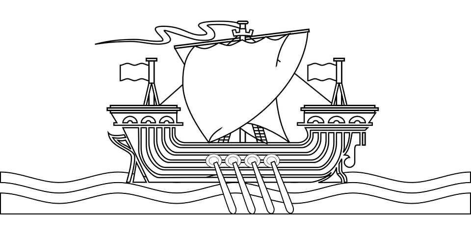 Motorboot malvorlage  Free vector graphic: Vikings, Ship, Sailing Ship, Boat - Free ...