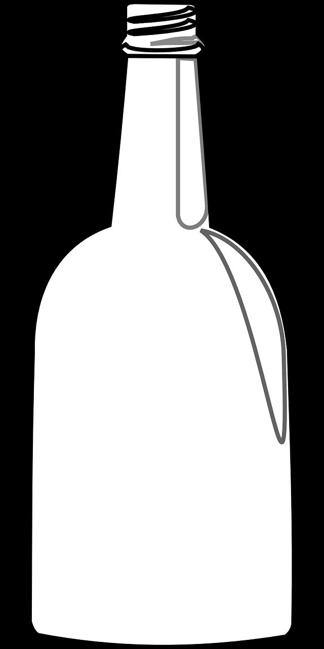 легкие картинки на бутылку известность