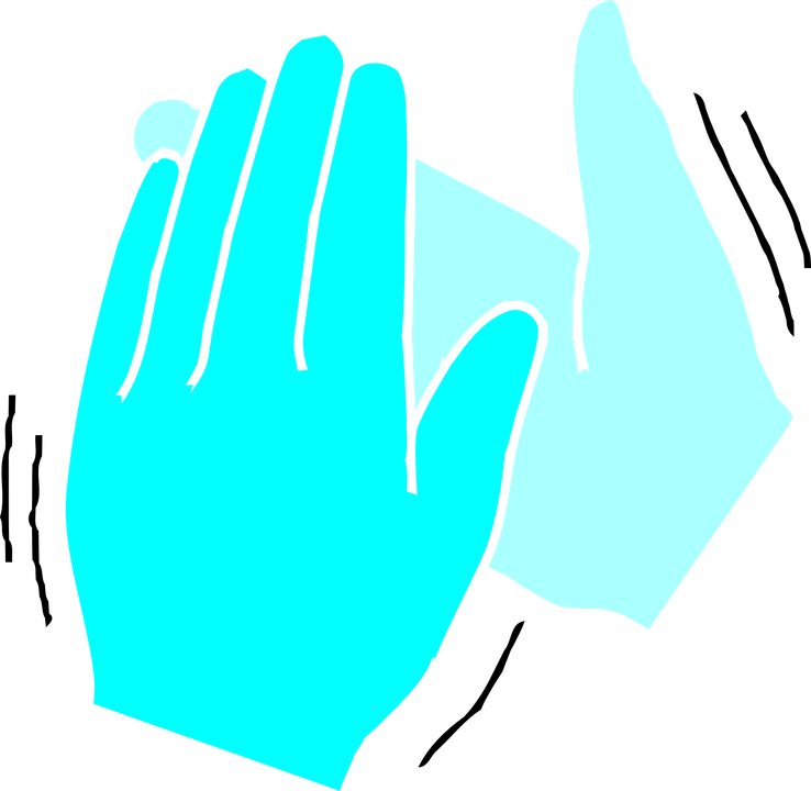 Free vector graphic: Clapping Hands, Hands, Sound, Clap - Free ...
