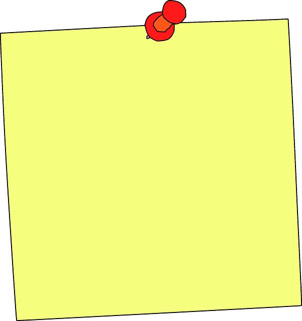 image vectorielle gratuite pense b te post it rappel m mo image gratuite sur pixabay 294230. Black Bedroom Furniture Sets. Home Design Ideas