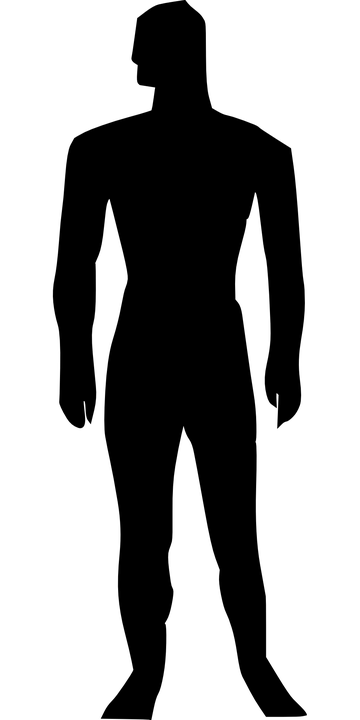 vector gratis hombre silueta masculina figura imagen gratis en pixabay 294314. Black Bedroom Furniture Sets. Home Design Ideas