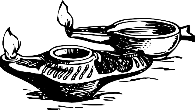 Oil Lamps Genie Old Free Vector Graphic On Pixabay
