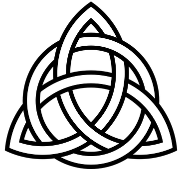 Celtic, Tribal, Knoten, Symbol, Dreieck