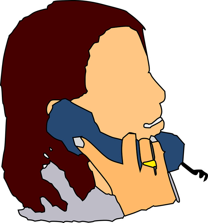 people talking vector graphics pixabay download free images rh pixabay com Person Talking On Phone Clip Art People On Phone Cartoon