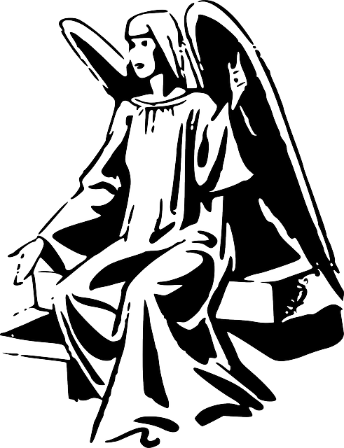 Angel Wings Silhouette 183 Free Vector Graphic On Pixabay