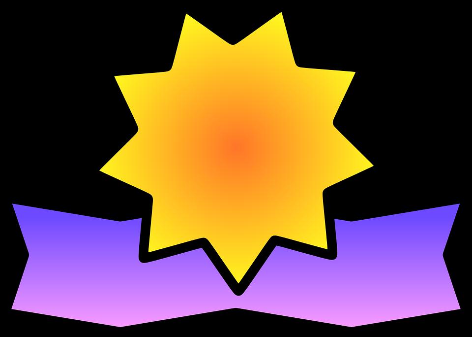 certificate star ribbon free vector graphic on pixabay rh pixabay com