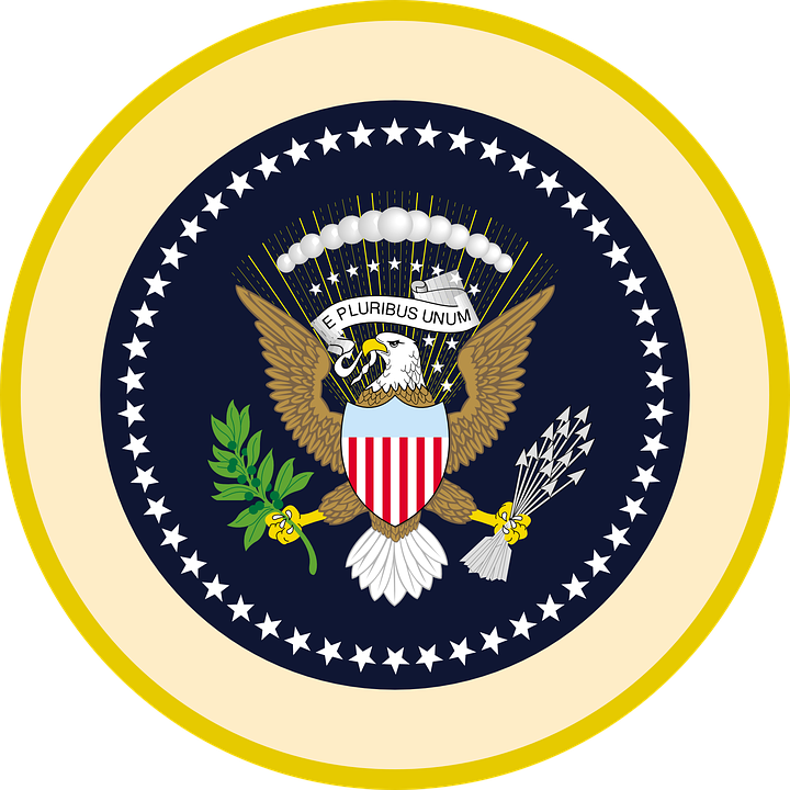 seal usa eagle free vector graphic on pixabay rh pixabay com  presidential seal vector art