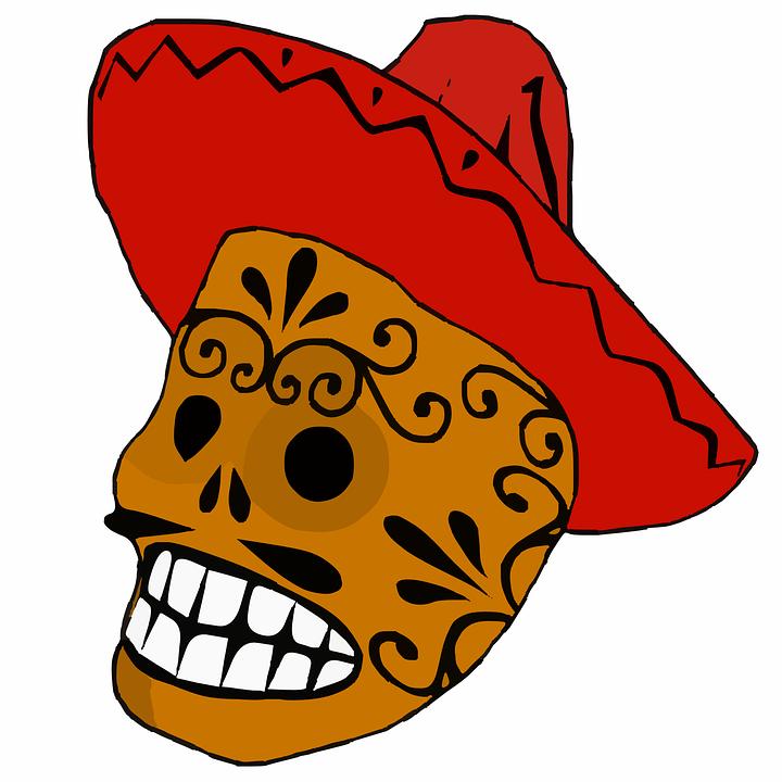 Mexican Sombrero Vector Png