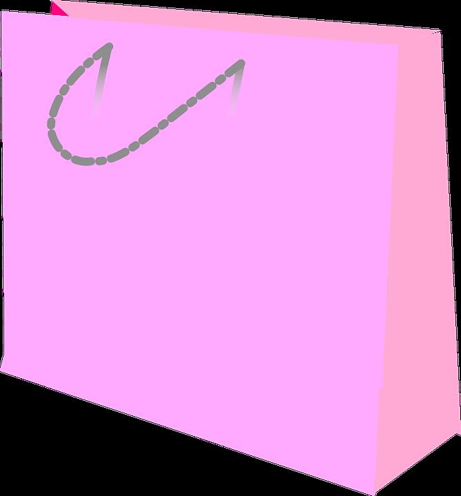 Sacola De Compras Saco Gráfico Vetorial Grátis No Pixabay