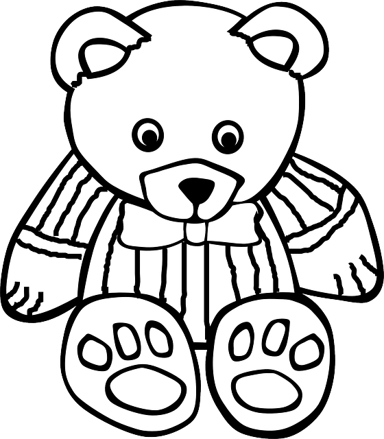 Teddy Bear 183 Free Vector Graphic On Pixabay