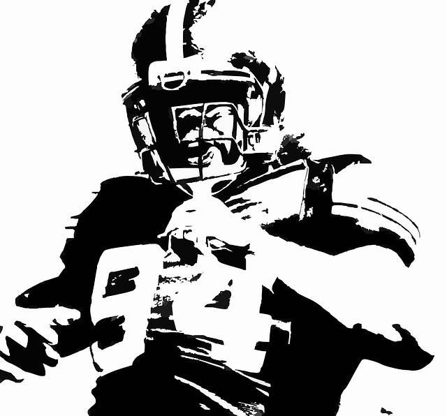 free vector graphic: american football, player, helmet - free