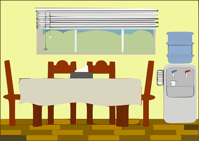Free vector graphic dining room house room furniture for Casa art de la table