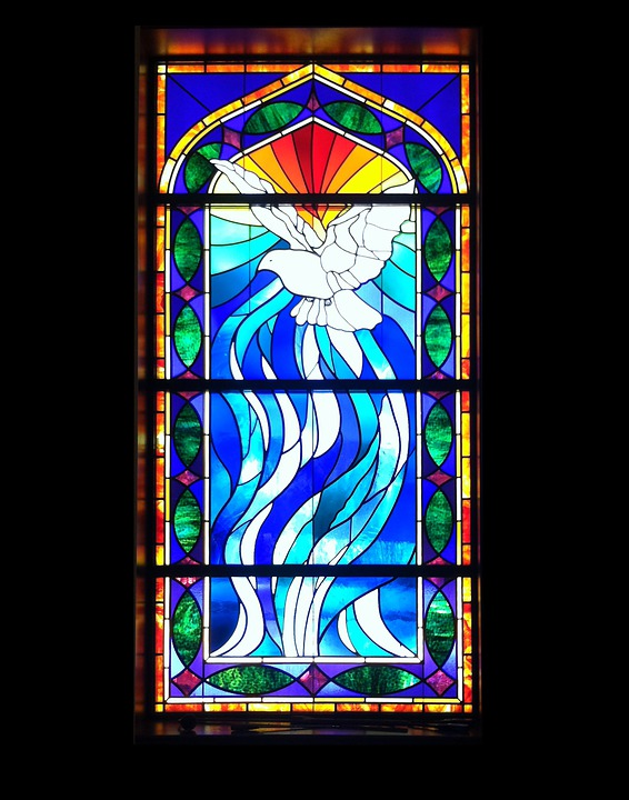 Stained glass window church free photo on pixabay for Stained glass window church
