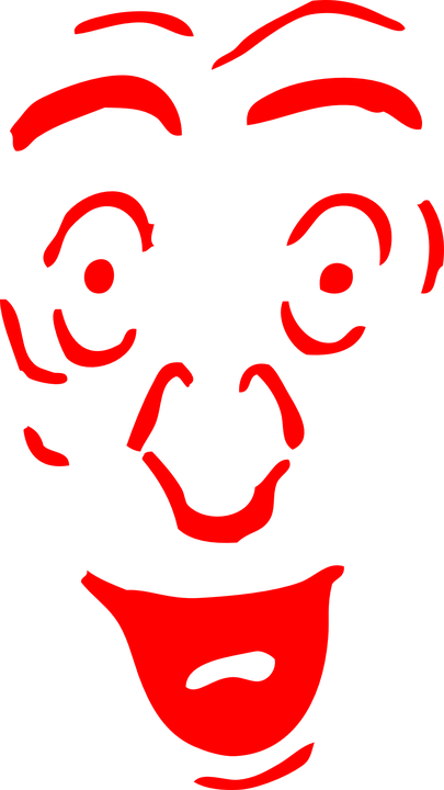 Face, Red, Surprised, Laughing, Happy
