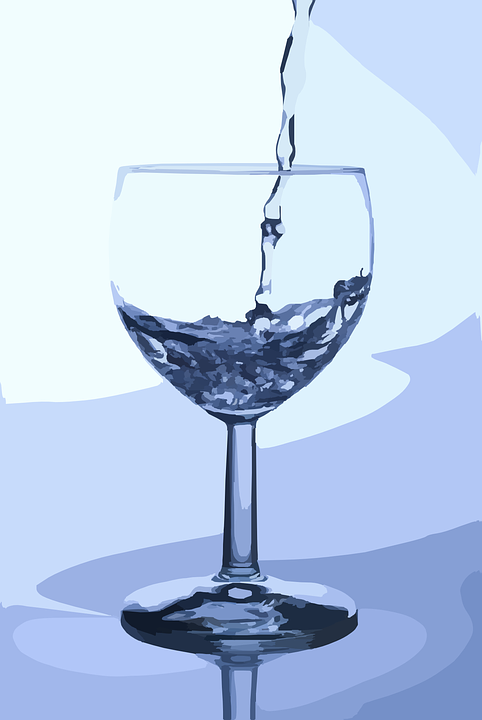 kostenlose vektorgrafik wasser glas gie en trinkwasser. Black Bedroom Furniture Sets. Home Design Ideas