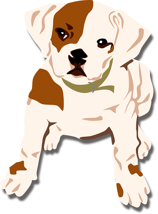 dog bulldog puppy free vector graphic on pixabay rh pixabay com free pit bull puppy vector Puppy Clip Art