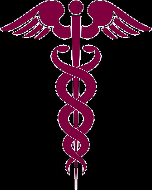 medicine caduceus medical free vector graphic on pixabay rh pixabay com Artistic Caduceus Medical Symbol Vector