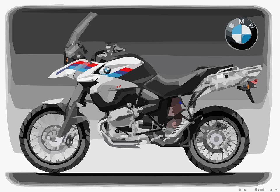 free vector graphic: motorbike, moto, bmw, motorcycle - free image