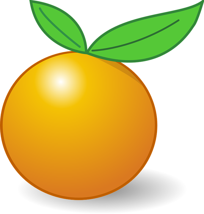 orange fruit leaves free vector graphic on pixabay rh pixabay com orange vector control orange vector logo