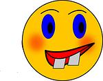 smiley, crazy, wacky