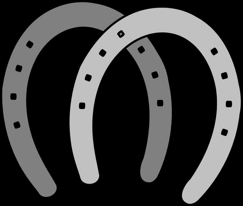 horseshoes horses gray free vector graphic on pixabay rh pixabay com