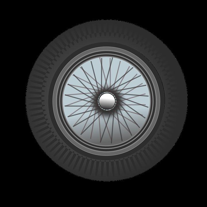 Classic Car Wheel Free Vector Graphic On Pixabay - Classic car wheels