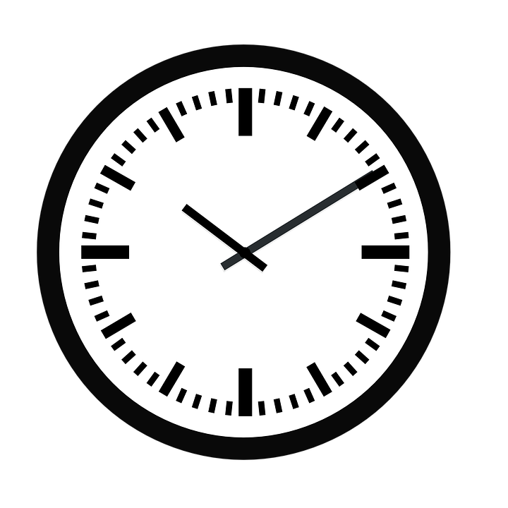 free vector graphic  clock  time  hour  minute