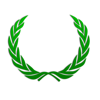 Laurel Wreath Wreath Green Leaves Pea