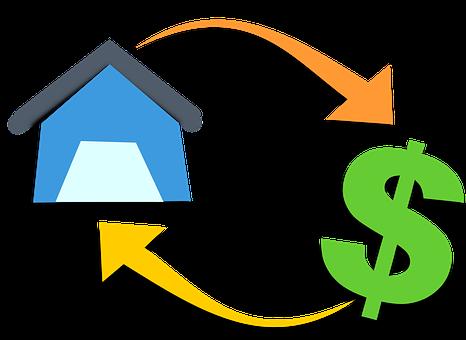 Mortgage, House, Money, Finance, Banking