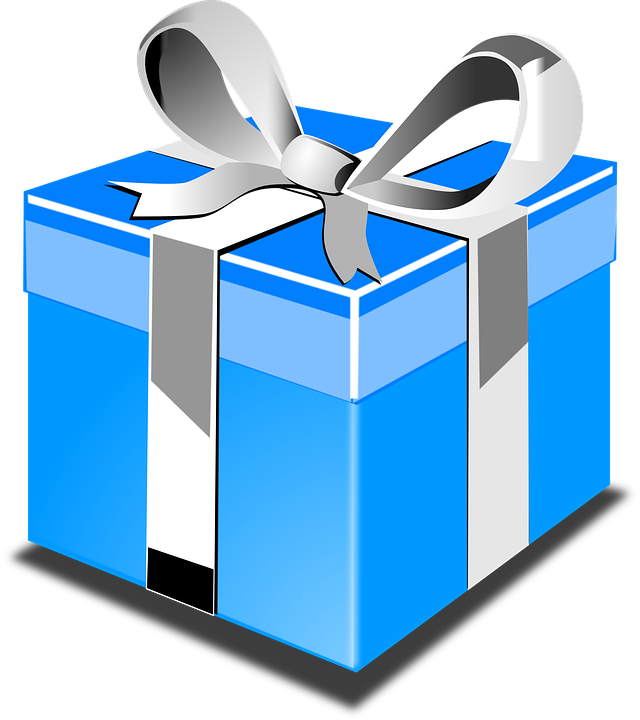 Gift present blue free vector graphic on pixabay gift present blue birthday bow negle Gallery
